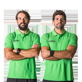 Nuno Mendes e Pedro Fraga
